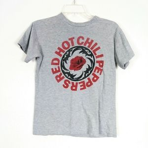 Red Hot Chili Peppers Grey Band TShirt